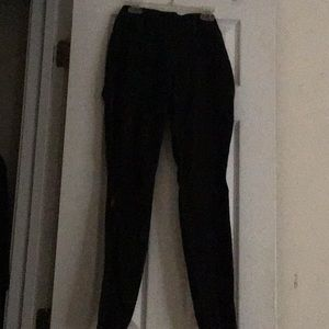 Small black pants w stain